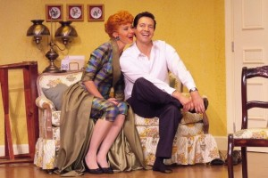 Dan Zeff's Stage and Cinema review of I Love Lucy, Live on Stage at Broadway Playhouse in Chicago