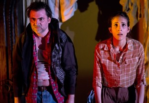 Sarah Taylor Ellis' Stage and Cinema review of I HATE FUCKING MEXICANS at the Flea NYC
