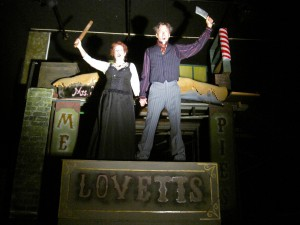 Mark Alan Anderson's Stage and Cinema review of Pacific Opera Project's SWEENEY TODD in Los Angeles