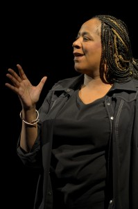 Tony Frankel's Stage and Cinema review of Goodman Theatre's Black n Blue Boys/Broken Men, by Dael Orlandersmith, Chicago