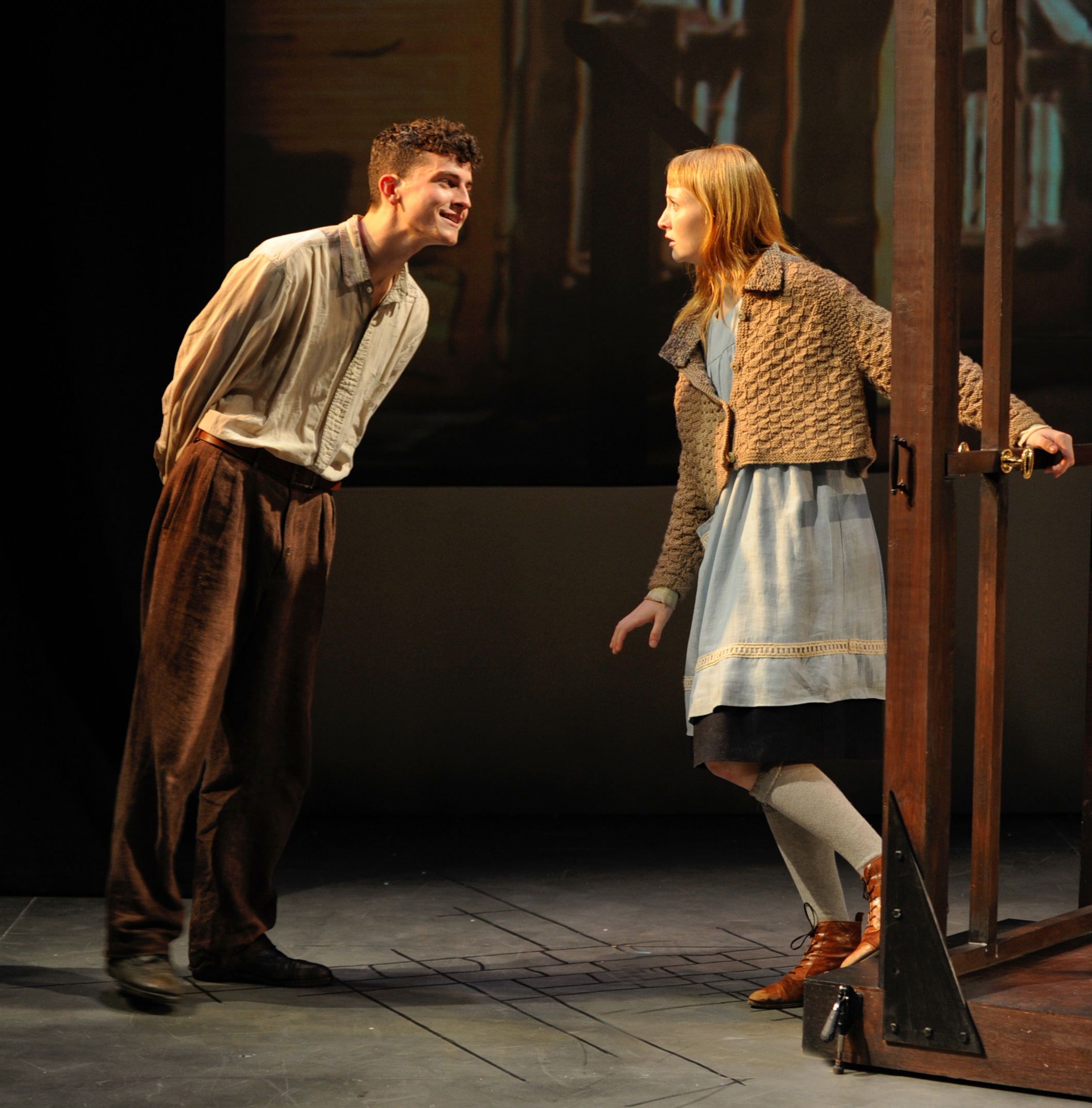 liesel in the book thief liesel the book thief by insomniac mind  chicago theater review the book thief steppenwolf tony frankel s stage and cinema review of the
