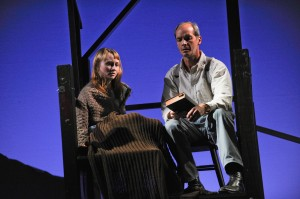 Tony Frankel's Stage and Cinema review of THE BOOK THIEF at Steppenwolf in Chicago