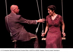 Sarah Taylor Ellis' Stage and Cinema review of NORTH at 59E 59 in NYC