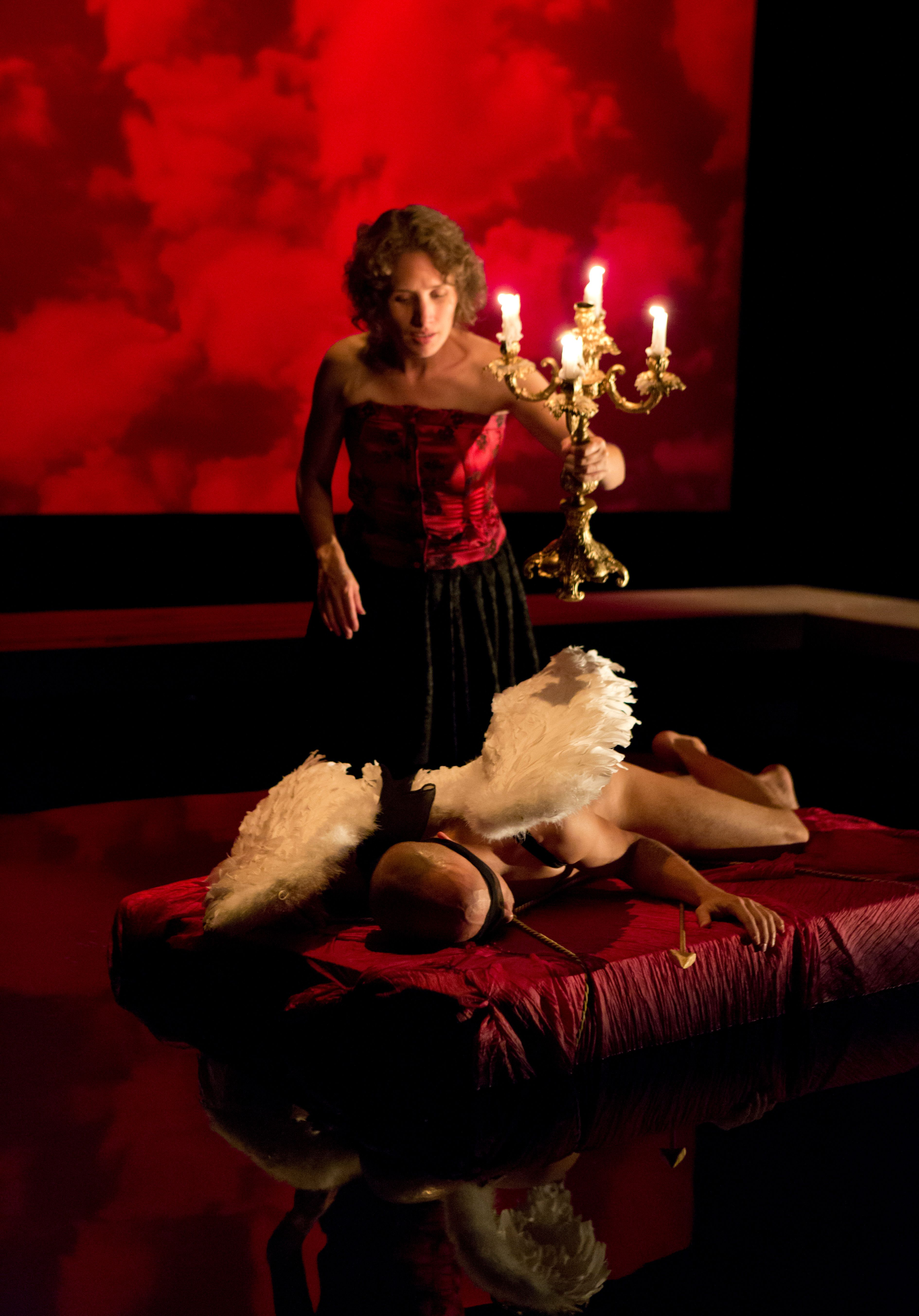 chicago theater review  metamorphoses  lookingglass