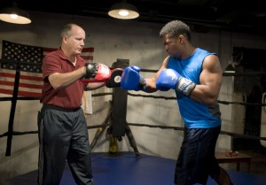 Dan Zeff's Stage and Cinema review of The Opponent at A Red Orchid Theatre in Chicago