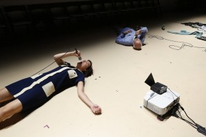 Off Broadway Theater Review by Harvey Perr - The Transport Group Theater Company - Daniel Fish directs Jonathan Franzen's essay House for Sale