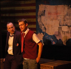 Zach Zimmerman's Stage and Cinema review of 44 Plays for 44 Presidents at the Neo-Futurarium in Chicago