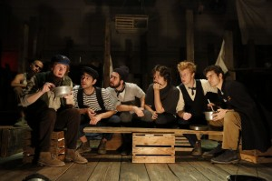 Sarah Taylor Ellis' Stage and Cinema Off-Broadway review of The Old Man and the Old Moon, PigPen Theatre Co. at The Gym at Judson in NYC