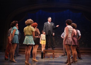 Tony Frankel's Stage and cinema review of 42ND STREET at Theatre at the Center, Munster, Indiana
