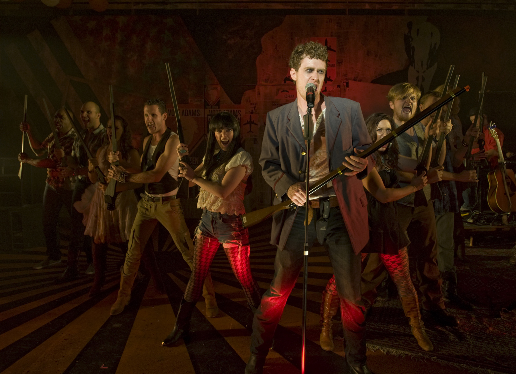 Chicago Theater Review Bloody Bloody Andrew Jackson