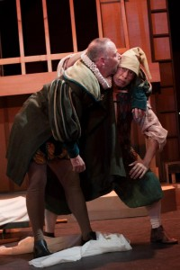 Sarah Taylor Ellis' Stage and Cinema review of Shakespeare Exchange's ISLAND OR, TO BE OR NOT TO BE at The Connelly Theater in New York City
