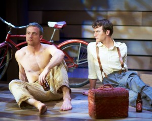 Tony Frankel's Stage and Cinema review of Steep Theatre's MAKING NOISE QUIETLY in Chicago