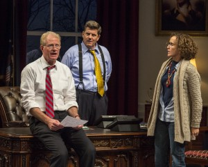 Jason Rohrer's Stage and Cinema review of NOVEMBER at Mark Taper Forum in Los Angeles