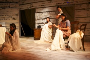 Ella Martin's Stage and Cinema review of FAITH at Los Angeles Theatre center