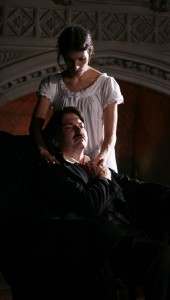 Tony Frankel's Stage and Cinema review of First Folios' The Madness of Edgar Allan Poe: A Love Story at Mayslake Peabody Estate