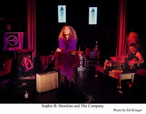 Jesse David Corti's Stage and Cinema review of Macha Theatre's Room 105 The Highs and Lows of Janis Joplin in L.A.