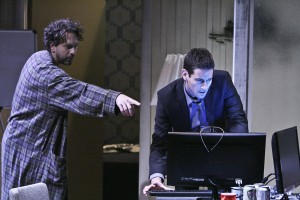 Samuel Bernstein's Stage and Cinema review of Geffen Playhouse's BUILD in Los Angeles