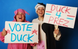 Sally Jo Osborne's Stage and Cinema review of Lifeline's DUCK FOR PRESIDENT in Chicago