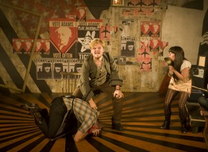 Dan Zeff's Stage and Cinema review of Bloody Bloody Andrew Jackson, Bailiwick Theater at the National Pastime Theater in Chicago