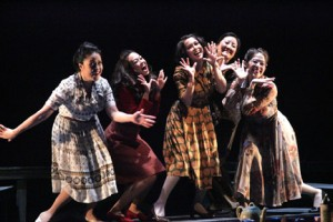 Jesse David Corti's Stage and Cinema review of East West Players' TEA, WITH MUSIC at Union Center for the Arts in Los Angeles