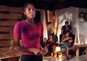 Tony Frankel's Stage and Cinema review of Fountain Theatre's In the Red and Brown Water in Los Angeles