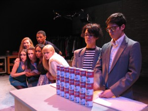Jesse David Corti's Stage and Cinema review of Untitled Warhol Project at Caminito Theatre and Odyssey Theatre in Los Angeles