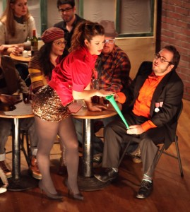 Barnaby Hughes' Stage and Cinema review of Pacific Opera Project's La Bohème at Highland Park Ebell Club in Los Angeles