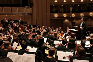 Aimee Stahlberg's Stage and Cinema review of Chicago Youth Symphony Orchestras Fall Concert