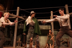 Thomas Antoinne's Stage and Cinema review of Shakespeare's Globe Theatre HAMLET at The Broad Stage in Santa Monica