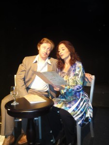 Sally Jo Osborne's Stage and Cinema review of Eclectic Theatre Company's Music from a Sparkling Planet at the Athenaeum in Chicago