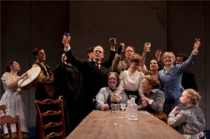 Dan Zeff's Stage and Cinema review of James Joyce's 'The Dead' at the Court Theatre in Chicago