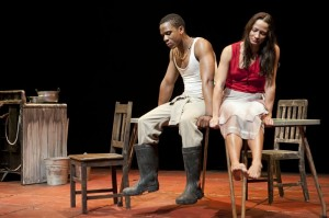 Sarah Taylor Ellis' Stage and Cinema Off-Broadway Review of MIES JULIE at St. Ann's Warehouse