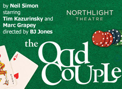 Post image for Chicago Theater Review: THE ODD COUPLE (Northlight Theatre in Skokie)