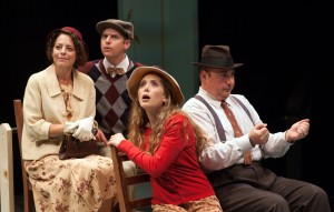 Tony Frankel's Stage and Cinema review of WILDER TIMES at Aurora in Berkeley