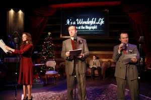 Zach Zimmerman's Stage and Cinema review of American Blues Theatre's It's a Wonderful Life! Live at the Biograph! In Chicago
