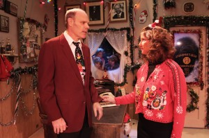 Tony Frankel's Stage and Cinema review of Bob's Holiday Office Party at Pico Playhouse in Los Angeles