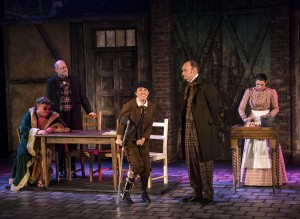 Tony Frankel's Stage and Cinema review of Twist Your Dickens at Kirk Douglas Theatre in Culver City, Los Angeles