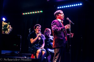 Tony Frankel's Stage and Cinema review of Cortés Alexander's cabaret Have a SWELL Holiday at Sterling's Upstairs at the Federal