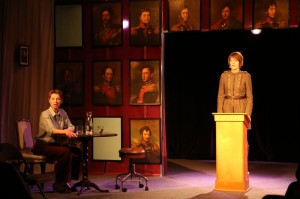 """Dmitry Zvonkov's Stage and Cinema Off-Off-Broadway review of """"There There"""" at The Chocolate Factory"""