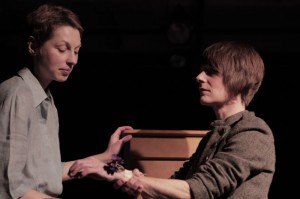 "Dmitry Zvonkov's Stage and Cinema Off-Off-Broadway review of ""There There"" at The Chocolate Factory"