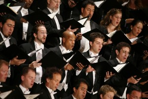 Tony Frankel's Stage and Cinema review of Los Angeles Master Chorale's Monteverdi's Vespers of 1610 at Walt Disney Concert Hall