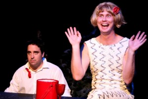 Tony Frankel's Stage and Cinema review of Santasia – A Holiday Comedy at the Whitefire Theatre, Los Angeles