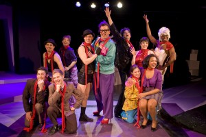 Lawrence Bommer's Stage and Cinema review of About Face Theatre's WE THREE LIZAS at Steppenwolf Chicago
