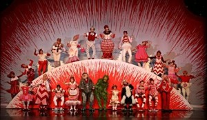 Lawrence Bommer's Stage and Cinema review of 'How the Grinch Stole Christmas! The Musical' Cadillac Theatre Broadway in Chicago