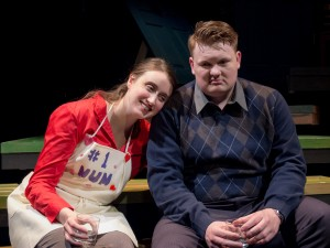 Lawrence Bommer's Stage and Cinema review of Shattered Globe's HAPPY NOW? At Stage 773, Chicago