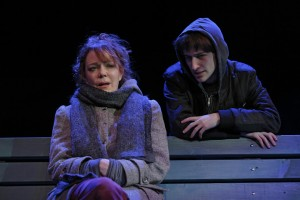 Dmitri Zvonkov's Stage and Cinema review of THE VANDAL at the Flea NYC