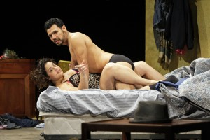 Samuel Bernstein's Stage and Cinema review of MOTHERFUCKER WITH THE HAT at South Coast Rep Costa Mesa, Los Angeles