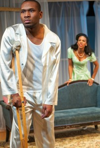 Stacy Trevenon's Stage and Cinema review of African-American Shakespeare's CAT ON A HOT TIN ROOF in San Francisco