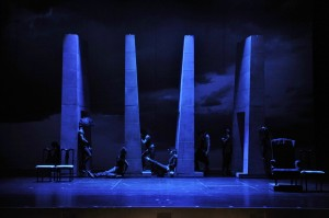 "Erika Mikkalo's Stage and Cinema Chicago Opera review of ""The Fall of the House of Usher."""