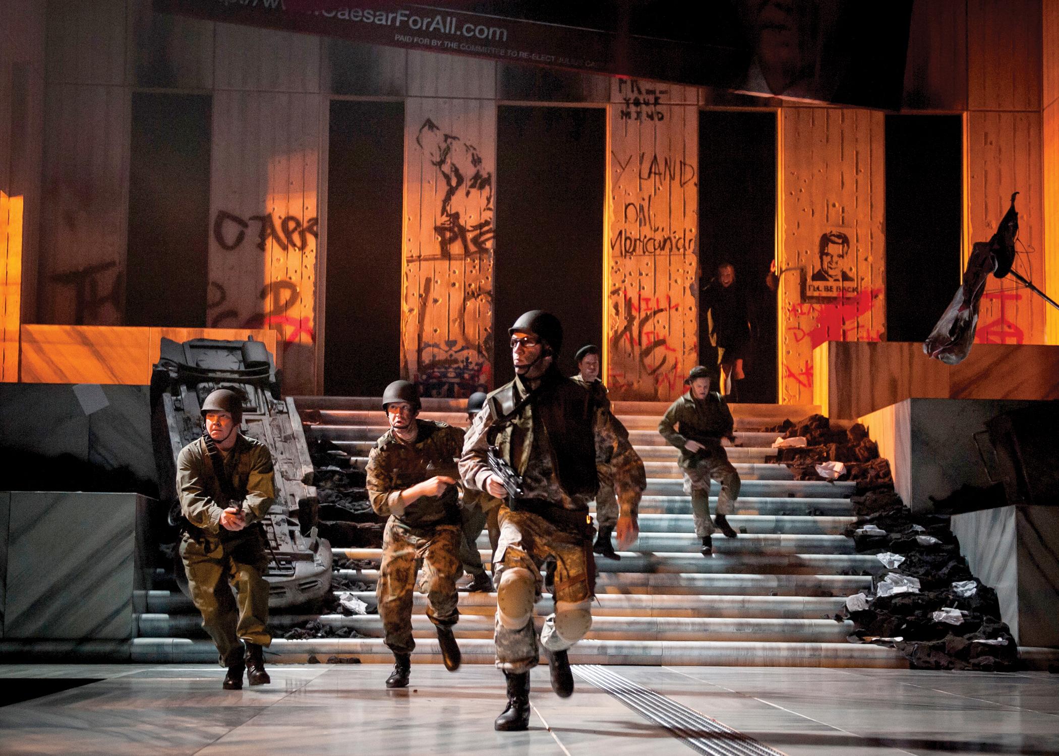 Chicago Theater Review Julius Caesar Chicago Shakespeare